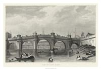 Vue Du Pont Neuf Fine Art Print