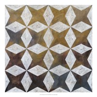 """Royal Pattern I by Megan Meagher - 20"""" x 20"""", FulcrumGallery.com brand"""