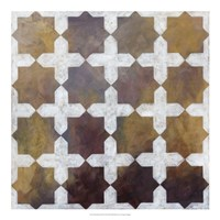 """Royal Pattern III by Megan Meagher - 20"""" x 20"""", FulcrumGallery.com brand"""