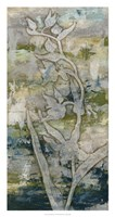"""Gossamer Blooms II by Megan Meagher - 17"""" x 32"""""""