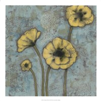 Sun Poppies II Framed Print