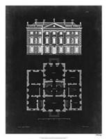 Graphic Building & Plan I Fine Art Print
