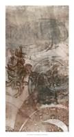 """Layered Filigree I by Jennifer Goldberger - 14"""" x 26"""""""