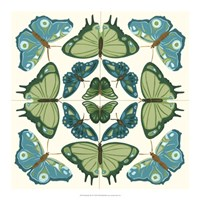"Butterfly Tile IV by June Erica Vess - 18"" x 18"""