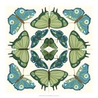Butterfly Tile IV Framed Print