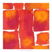 "Saturated Blocks I by Renee Stramel - 18"" x 18"""