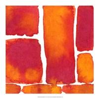 """Saturated Blocks II by Renee Stramel - 18"""" x 18"""""""