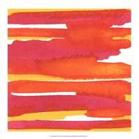 """Sunset on Water II by Renee Stramel - 18"""" x 18"""""""