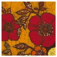 "Fire Bloom II by Andrea Davis - 19"" x 19"", FulcrumGallery.com brand"
