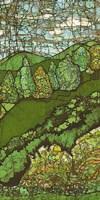 Green Landscape II Fine Art Print