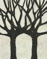 Batik Arbor II Framed Print