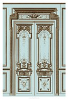 French Salon Doors II Framed Print