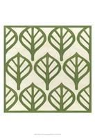 Cottage Leaves II Framed Print