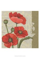 Paris Poppy II Framed Print