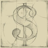 Drafting Symbols VI Fine Art Print