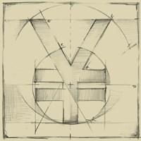 Drafting Symbols IX Fine Art Print