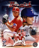 Yu Darvish 2013 Portrait Plus Fine Art Print
