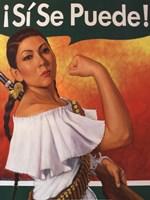 Rosita (¡Sí Se Puede!) Fine Art Print