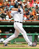 Alex Avila batting 2013 Fine Art Print