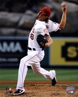Jered Weaver 2013 Pitching Fine Art Print