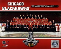Chicago Blackhawks 2013 NHL Stanley Cup Champions Fine Art Print