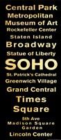 """SOHO by s - 8"""" x 18"""""""