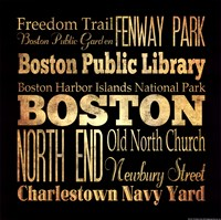 """Boston - Square by s - 12"""" x 12"""" - $12.99"""