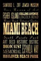 Miami Beach Florida I Framed Print