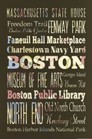 "Boston II by s - 12"" x 18"" - $12.99"
