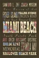 Miami Beach Florida II Framed Print