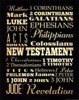 New Testament Fine Art Print