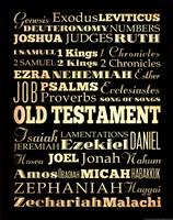 Old Testament Fine Art Print