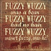 """Fuzzy Wuzzy by Jo Moulton - 12"""" x 12"""""""