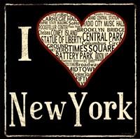 """NYC by Jo Moulton - 12"""" x 12"""""""
