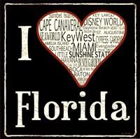 """Florida by Jo Moulton - 12"""" x 12"""""""