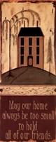 """Our Home by Kim Klassen - 4"""" x 10"""" - $9.99"""