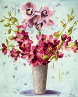"Spring Whimsy by Ninalee Irani - 16"" x 20"""