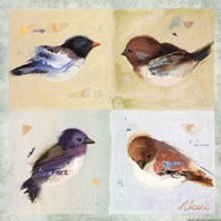 "Birds I by Ninalee Irani - 12"" x 12"" - $10.49"
