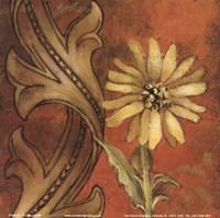 """Honeyed Square I by Lanie Loreth - 6"""" x 6"""""""