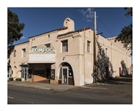 Old Movie Theater in Lompoc, California - various sizes