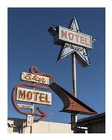 Star Motel in Lompoc, California - various sizes, FulcrumGallery.com brand