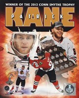 Patrick Kane 2013 NHL Conn Smythe Trophy Winner Portrait Plus Fine Art Print