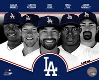 Los Angeles Dodgers 2013 Fine Art Print