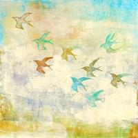 Oiseaux 1 Fine Art Print