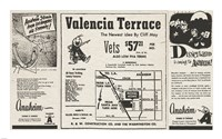 1950 Andy Anaheim Newspaper Ads, 1950 - various sizes