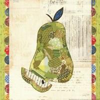 Fruit Collage III - Pear Fine Art Print