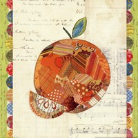 Fruit Collage IV - Orange Fine Art Print