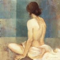 "Thoughtfulness II by Albena Hristova - 18"" x 18"""