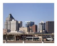 Greensboro Skyline Fine Art Print