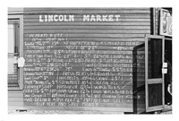 Lincoln Market Winston Salem, North Carolina Fine Art Print